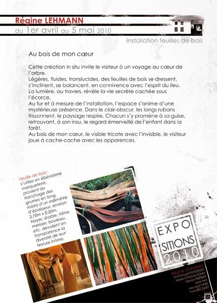 Chamagne – Saison 2010