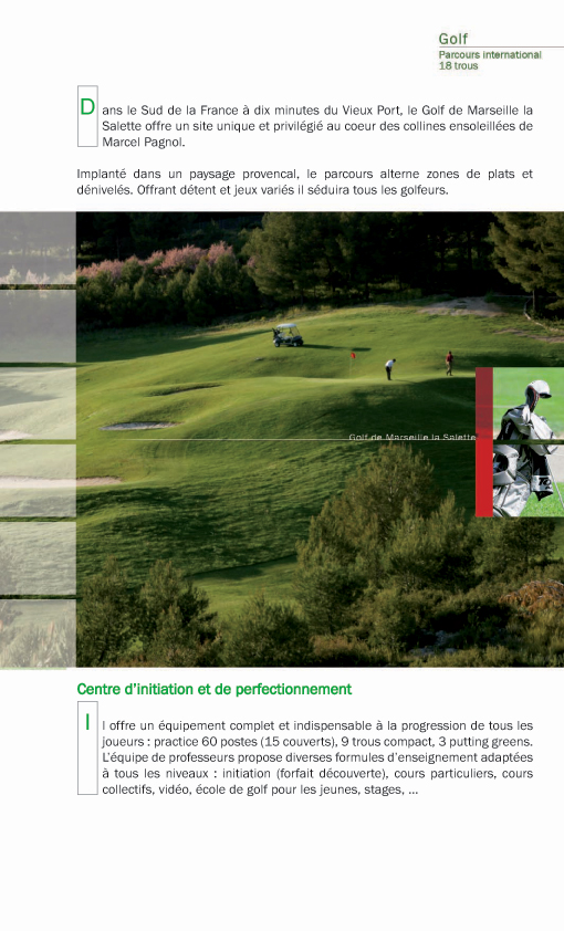 Golf club de la Salette